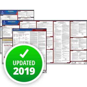 New Jersey and Federal Labor Law Poster Set with 1-Year Update Service -- Spanish Version