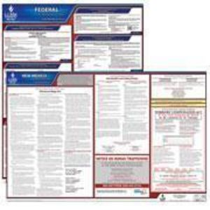 New Mexico and Federal Labor Law Poster Set with 1-Year Update Service -- Spanish Version