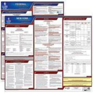 New York and Federal Labor Law Poster Set with 1-Year Update Service -- English Version