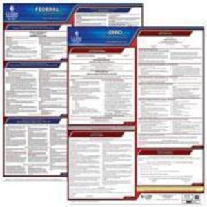 Ohio and Federal Labor Law Poster Set with 1-Year Update Service -- English Version