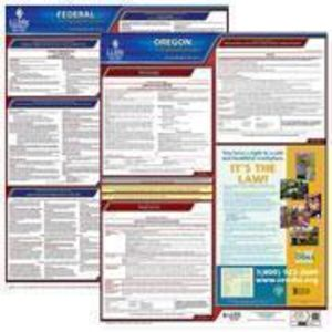 Oregon and Federal Labor Law Poster Set with 1-Year Update Service -- Spanish Version