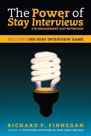 The Power of Stay Interviews for Engagement and Retention (e-book)