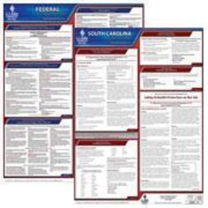 South Carolina and Federal Labor Law Poster Set with 1-Year Update Service -- English Version
