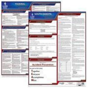 South Dakota and Federal Labor Law Poster Set with 1-Year Update Service -- Spanish Version