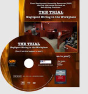 Negligent Hiring Mock Trial - DVD