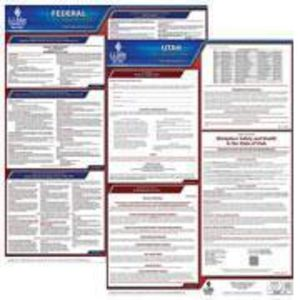 Utah and Federal Labor Law Poster Set with 1-Year Update Service -- English Version