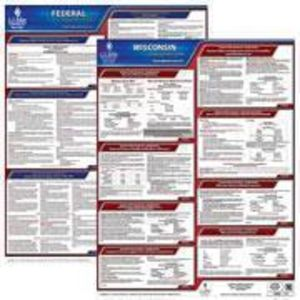 Wisconsin and Federal Labor Law Poster Set with 1-Year Update Service -- English Version