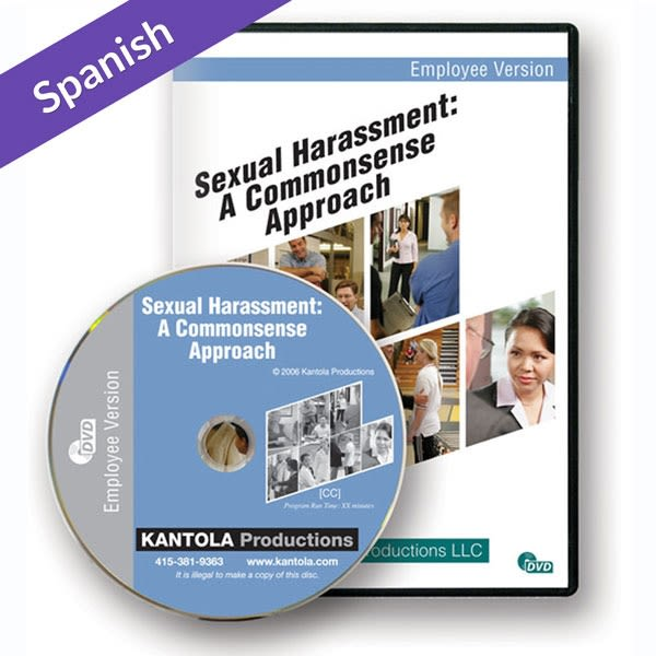 Sexual harassment in the workplace spanish manual