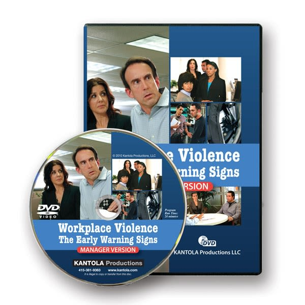 Fitness First Dvd Verleih: Workplace Violence: The Early Warning Signs Manager