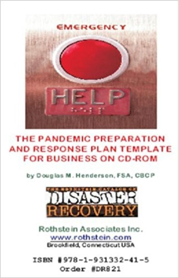 Pandemic preparation and response plan templates cd for Pandemic preparedness plan template