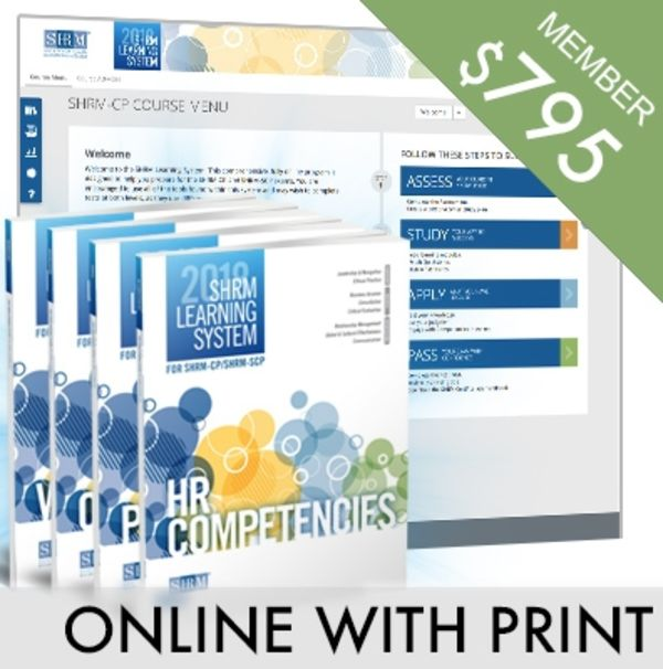 Shrm Learning System Shrm Store
