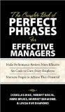 The Complete Book of Perfect Phrases for Effective Managers